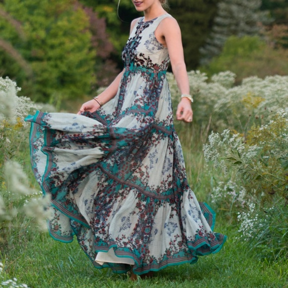 Anthropologie Dresses & Skirts - Anthropologie Bhanuni Madera Maxi Dress 00P